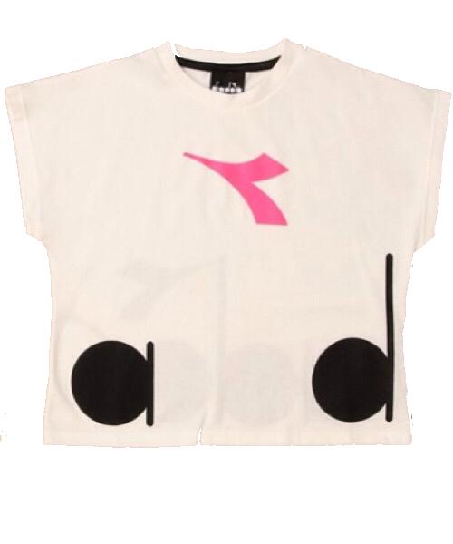 Diadora corta t-shirt manica corta big logo