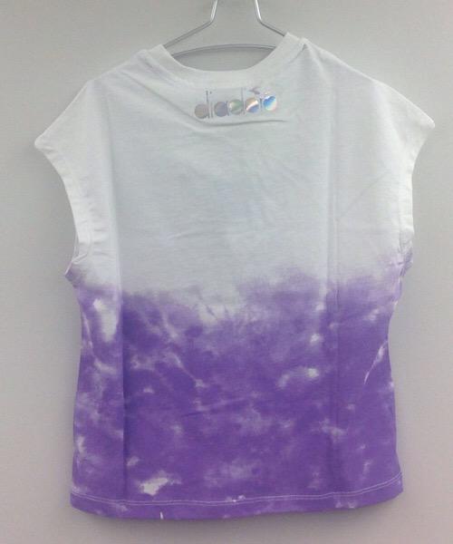 Diadora corta t-shirt manica corta