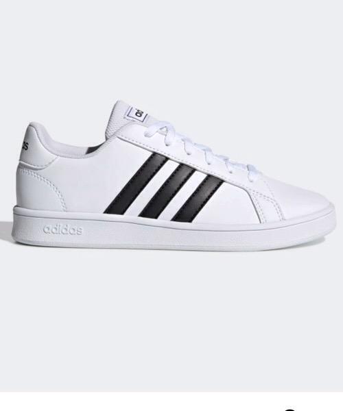 Adidas 2021 Grand Court K, Scarpe da Tennis Unisex-Bambini