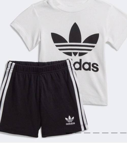 Adidas 2021 COMPLETO TREFOIL SHORTS TEE Adidas