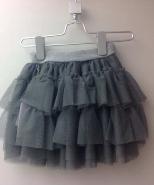 Gonna a balze in tulle Frugoo
