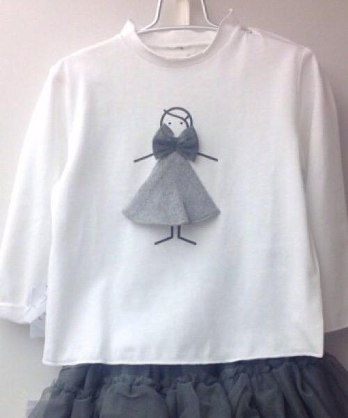 T-Shirt misto cotone con dettaglio Frugoo