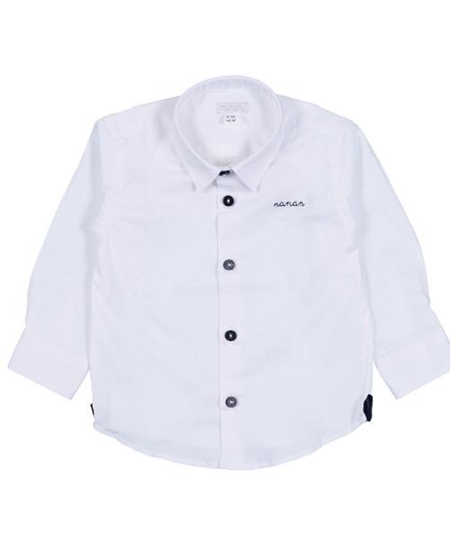 Camicia Bianca 'Cerimonia' - Nanan