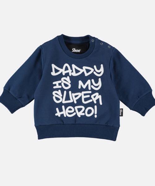 SHOESHINE felpa Gordon Sweater BAMBINO