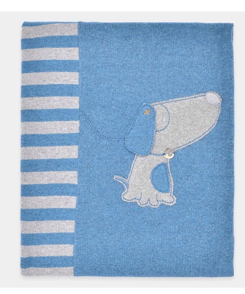 Coperta maschietto LALALÙ in maglia