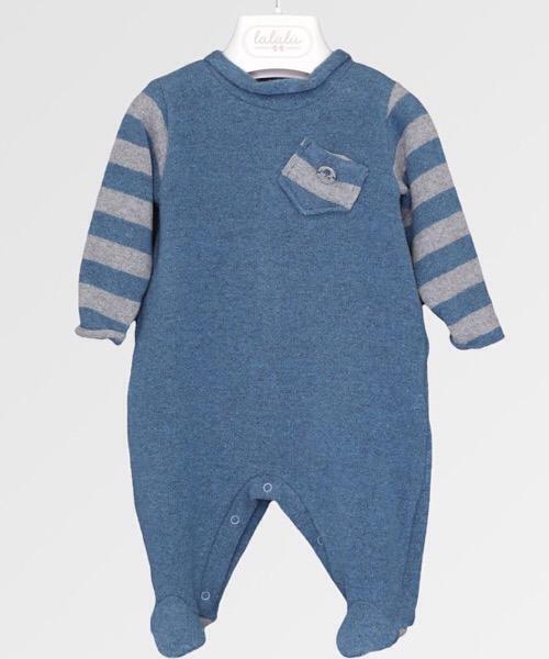 Tutina neonato Lalalù in maglia