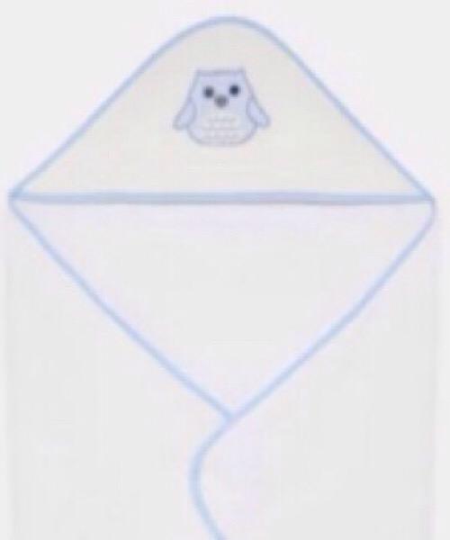 Accappatoio triangolo maschietto LALALU' in spugna