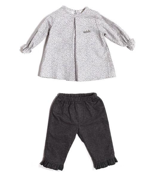Completo neonata LALALÙ in cotone