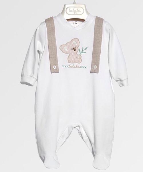 Tutina neonato LALALÙ in jersey