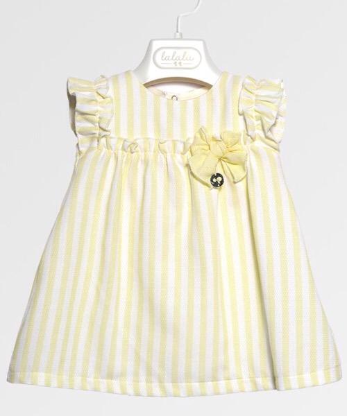 Vestito neonata LALALÙ in piquet