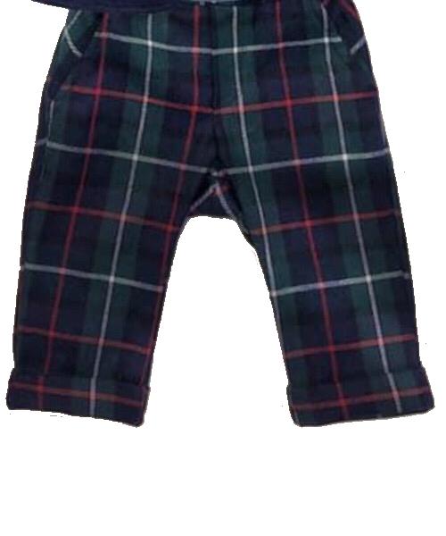 Leo e Lilly pantalone scozzese