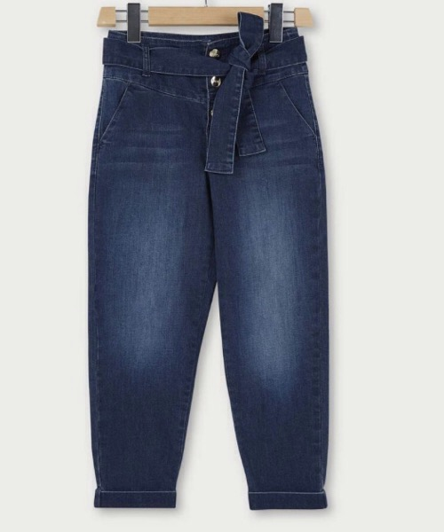 Jeans mom fit con cintura Liu Jo