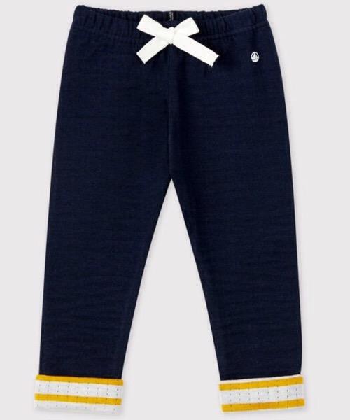 Pantalone in tubique bebè maschio Petit Bateau